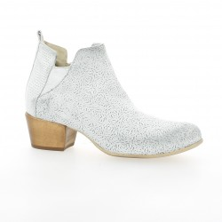 Volpato benito Boots cuir blanc