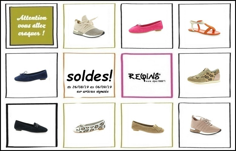 Soldes Reqins chaussures